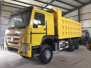Full renovation howo used 6*4 dump truck