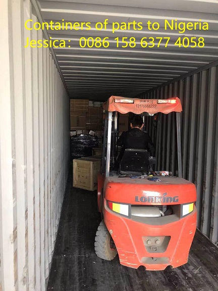 The First Container of Parts in May