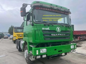 Used SHACMAN F3000 6*4 Tractor