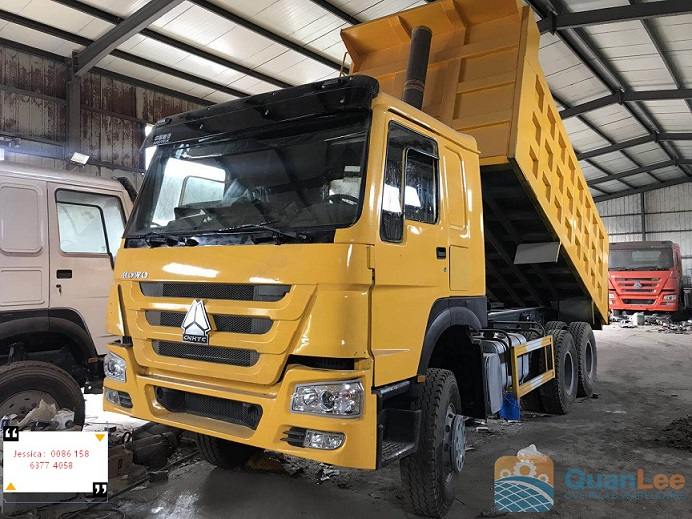 6*4 Howo used dump truck Featured Image