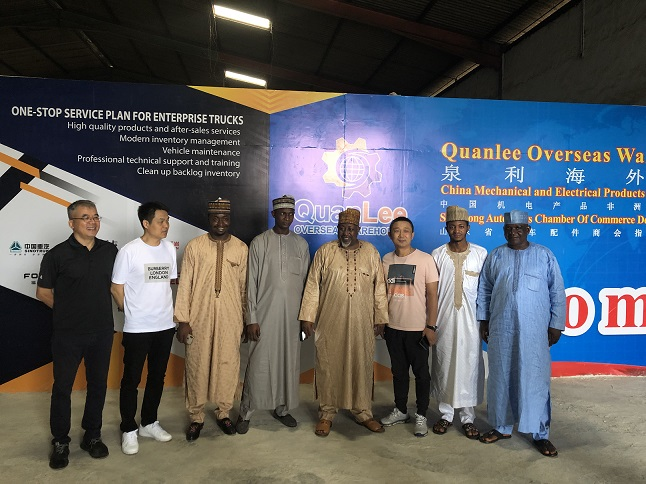 The governor of JIGAWA State Visited QuanLee Overseas Warehouse in Lagos, Nigeria and Discussed Long-term Cooperation