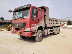 6X4 Howo used dump trucks