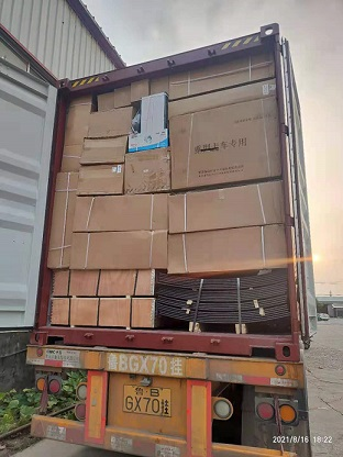 Container of Truck Parts to Lagos on August 16